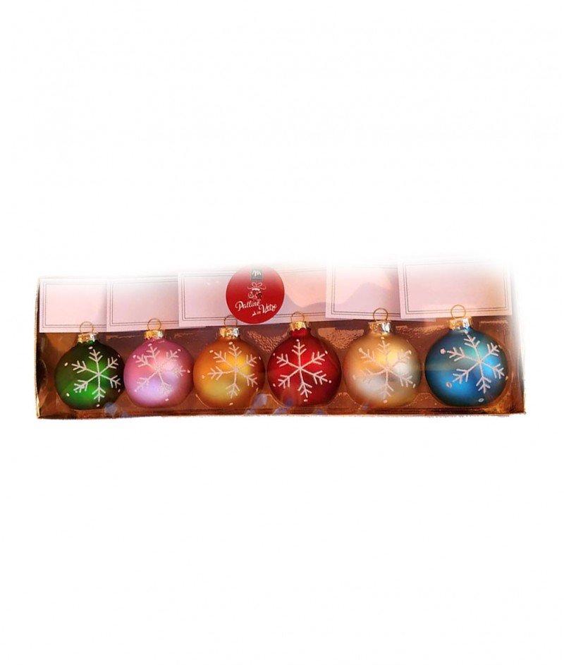 Коледни Топки с Билетчета за Отбелязване Местата на Гостите 6 броя - Kasanova
