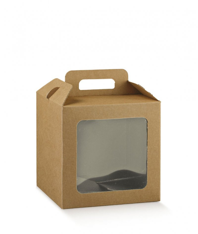 Луксозна Подаръчна Кутия - Куфарче с Прозорец - Scotton