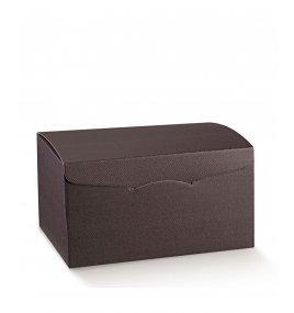 Луксозна Подаръчна Кутия Цвят Тъмна Марсала - Scotton
