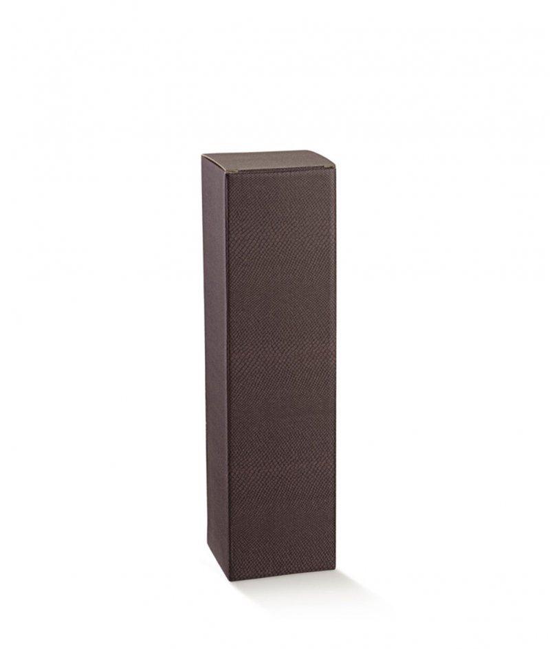 Подаръчна Кутия за Вино Цвят Тъмна Марсала - Scotton