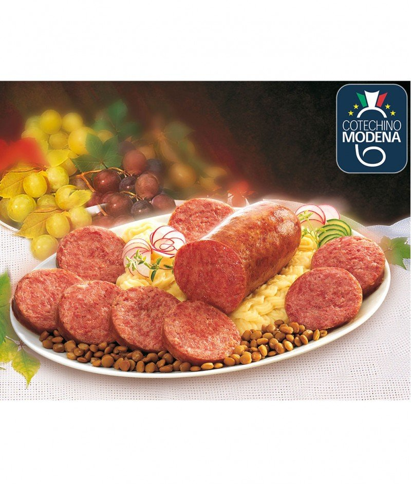 """Свинска Наденичка Котекино """"Bell'e Pronto"""" IGP Gluten Free 500 g - G. Bellentani 1821 S.p.A."""