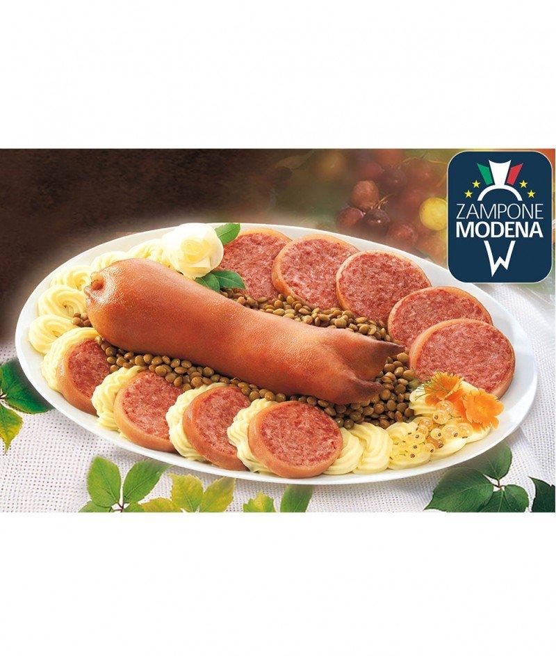 Zampone di Pico (Свинско Краче) Gluten Free 1000gr -  Новогодишен Деликатес от Модена - Palmieri