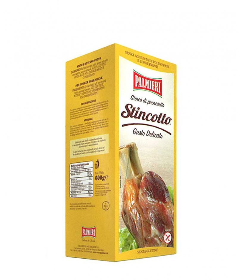 Свински Джолан Вкус Деликатен Gluten Free 600 g - Palmieri
