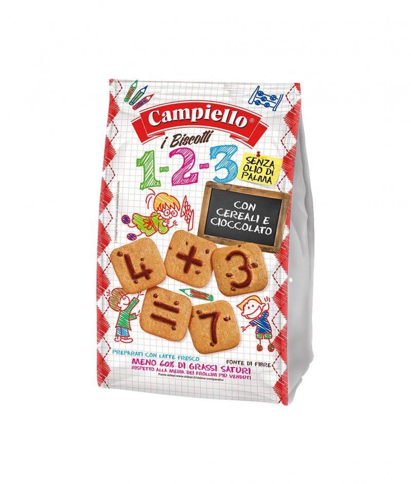 Бисквитки за Деца 1-2-3 Без Палмово Масло 300 g - Panealba 1982