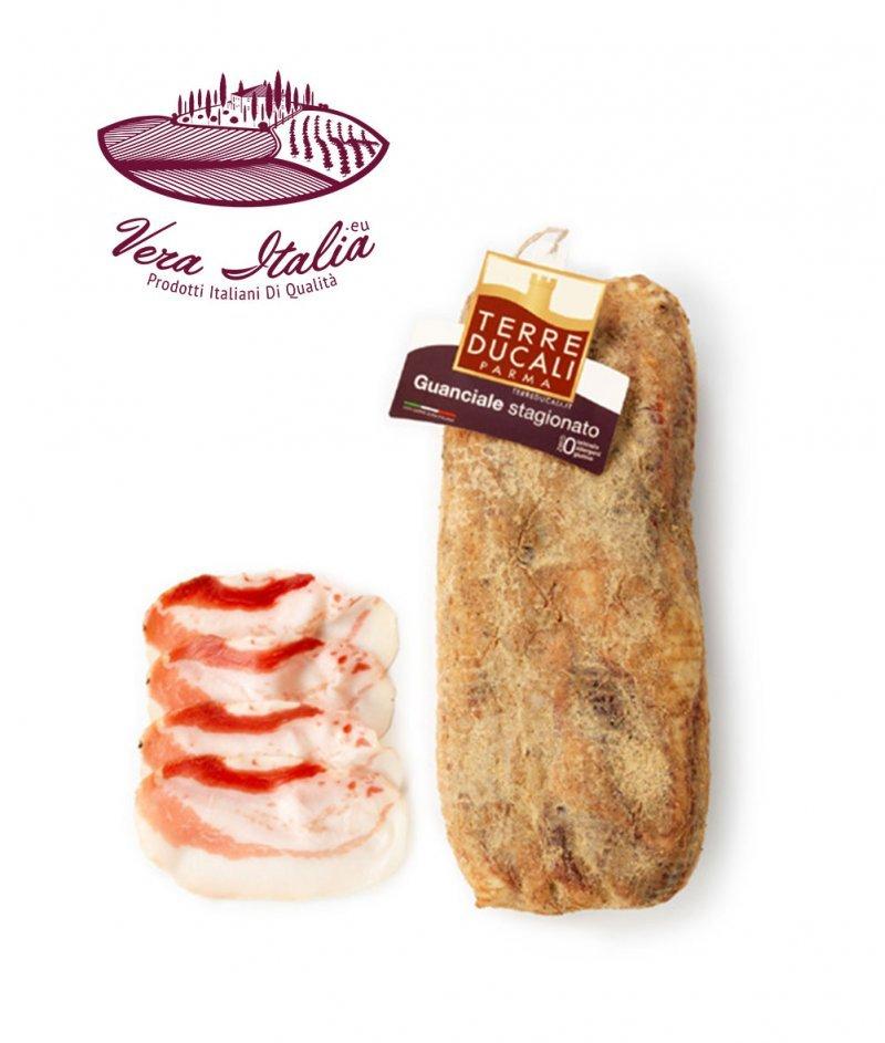 Гуанчале (Свински бузи) Отлежало Gluten Free 100 g - Terre Ducali Parma