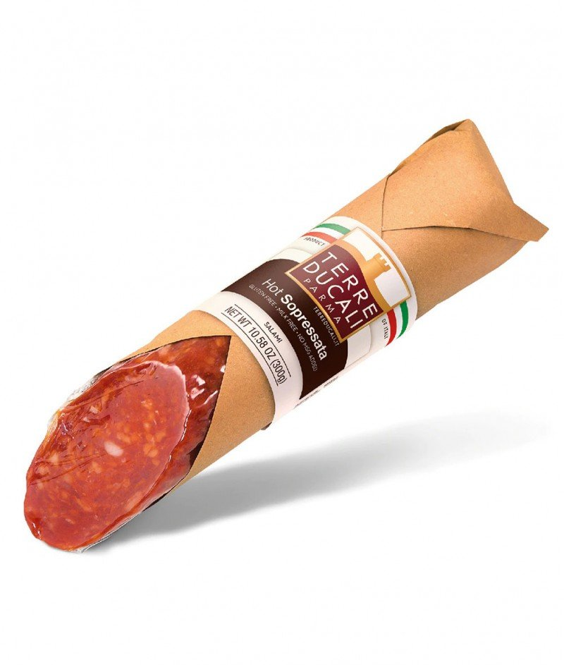 Пикантен Италиански Салам без Кожа Gluten Free 100 g - Terre Ducali Parma