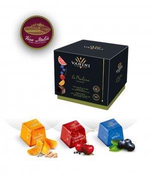 Гурме Шоколадови Бонбони Пралини със Зехтин в Кубче Vanini 131 g – Icam