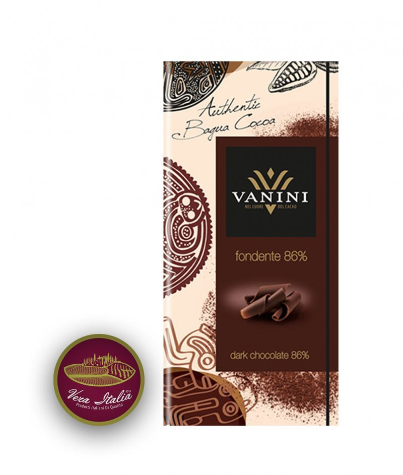Натурален Шоколад Vanini 86% Какао Багуа 100 g – Icam