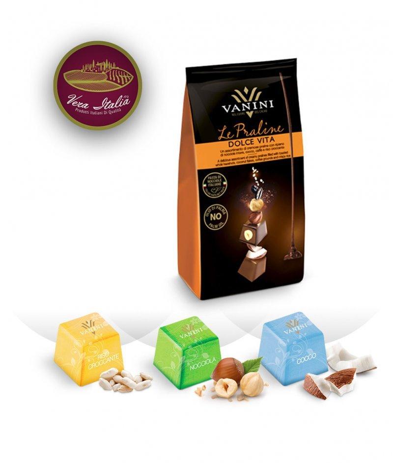 Шоколадови Бонбони Пралини Dolce Vita Vanini 120 g – Icam