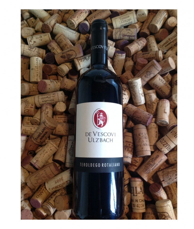 Teroldego Rotaliano 2015 DOC Magnum 1500 ml Alto Adige - De Vescovi Ulzbach - Теролдего