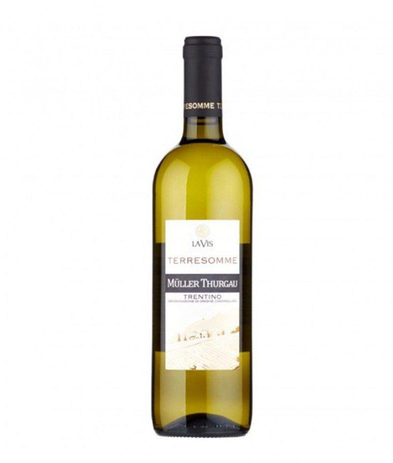 Müller Thurgau 2018 DOC  750 ml - Cantina La-Vis Trentino - Бяло Негазирано Вино