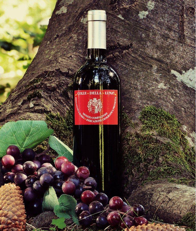 Colle della Luna Bergamasca Rosso 2015 IGP 750 ml - M.Compagnoni - Червено, Сухо Негазирано Вино