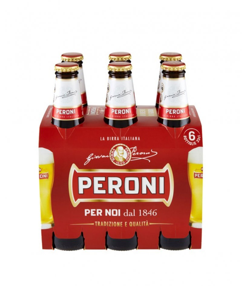 Бира Перони PERONI 6x330 ml  - Birra Peroni s.r.l. 1846