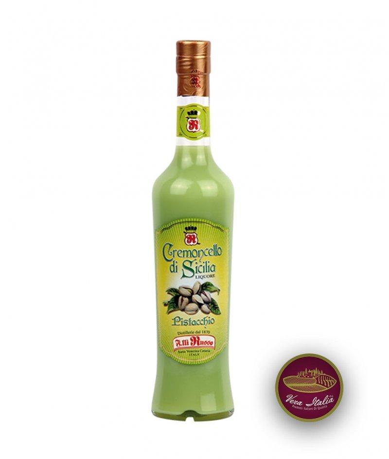 Кремончело от Сицилия Шам Фъстък - Крем Ликьор 500 ml - F.Lli Russo