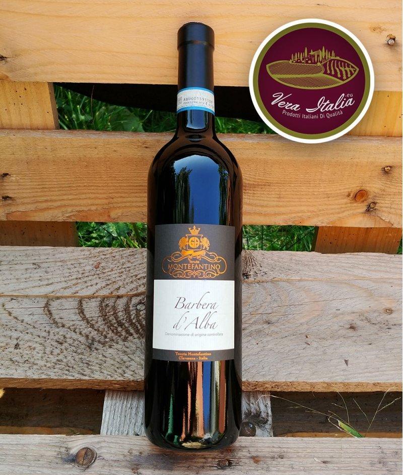 Barbera D'Alba 2018 DOC 750 ml - Tenuta Montefantino – Барбера Д'Алба Червено, Сухо Негазирано Вино