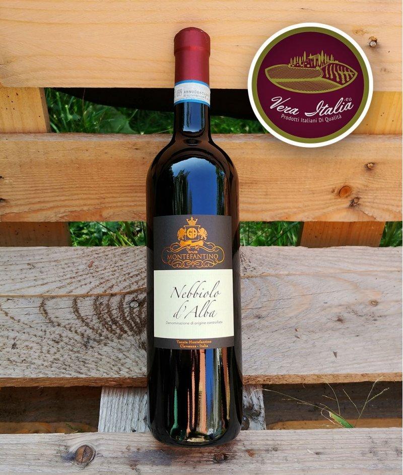 Nebbiolo D'Alba 2018 DOC 750ml - Tenuta Montefantino – Небиоло Д'Алба Червено, Сухо Негазирано Вино